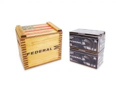 "Federal American Eagle Black Pack 223 Remington 55 Gr FMJ in ""We the People"" Crate - 300 Rounds"