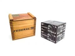 "Federal American Eagle Black Pack 9mm 115 Gr FMJ in ""We the People"" Crate"