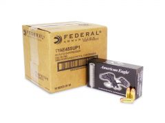 Federal American Eagle 45 ACP 230 Grain Subsonic FMJ (Case)