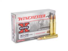 X30061 Box Winchester Super-X 30-06 Springfield 150 Grain PowerPoint 20 Rounds