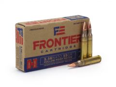 Hornady Frontier Military Grade 5.56x45mm NATO 55 Grain HP Match