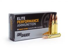 Sig Sauer Elite Performance .308 WIN 168 Grain OTM