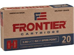 Hornady Frontier Military Grade 5.56x45mm NATO 62 Grain SP