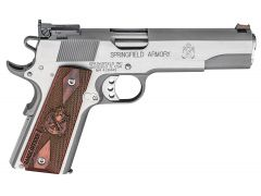 Springfield 1911 Range Officer 45 ACP 7+1 AS Cocobolo/Stainless