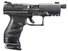 Walther PPQ M2 Q4 Tactical 9mm 15+1 Black
