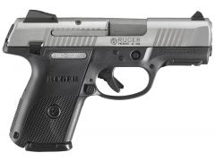 Ruger SR9C Compact 9mm 10+1 Black/Stainless