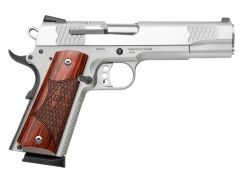 Smith & Wesson 1911 E Series 45 ACP 8+1 Laminate Wood/Stainless