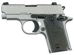 """Sig Sauer P238 Micro-Compact HD *CA Compliant* 380 ACP 2.7"""" 6+1 Black/Stainless"""