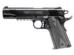 Walther 1911 Colt Government A1 w/Rail Single 22 LR 12+1 Black