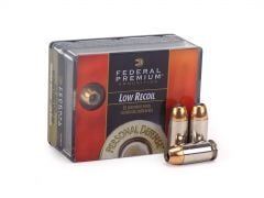 Federal Personal Defense 45 ACP 165 Grain Reduced Recoil JHP