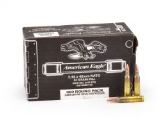 Federal American Eagle 5.56 XM193 55 Grain FMJ (150 Rounds Bulk)