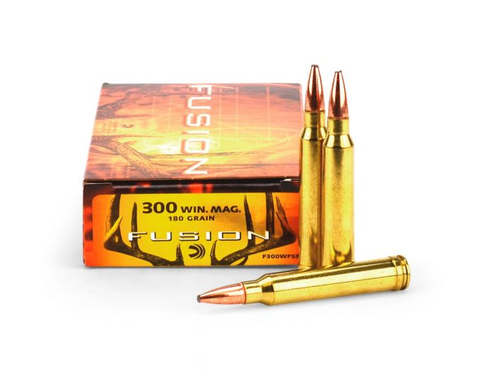 Federal Fusion  300 Win Mag 180 Grain F300WFS3 Ammo - 20