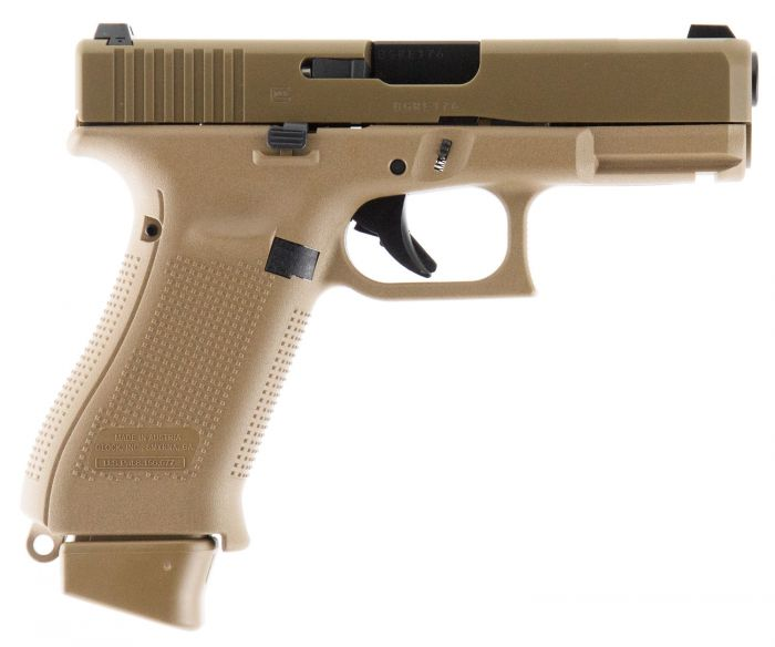Glock 19X Crossover Double 9mm 17+1 GNS Coyote