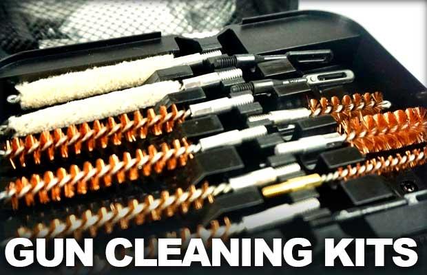 Gun Cleaining Kits for all types of guns
