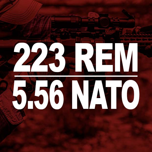 223 Rem and 5.56 Nato Ammo