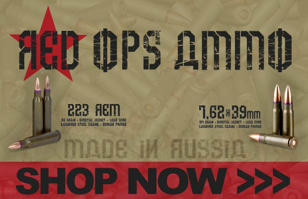 RED OPS AMMO