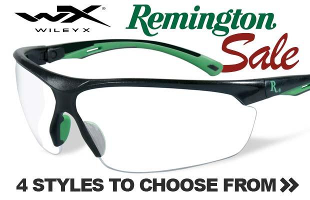 Remington WileyX Shooting Glasses