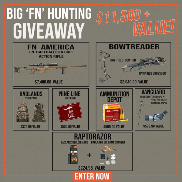 Big FN Hunting Giveaway