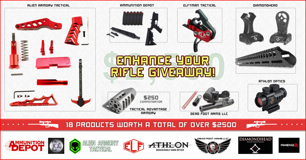 Enhance your Rifle Giveaway